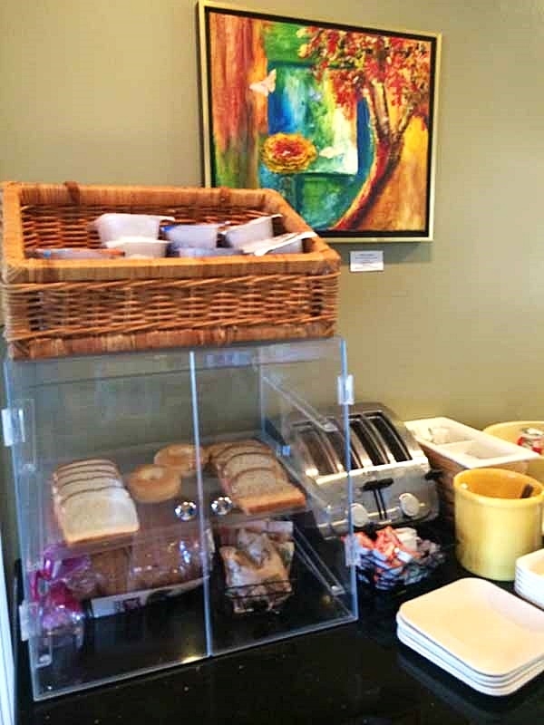 Gulf County Port Inn Breakfast Toast