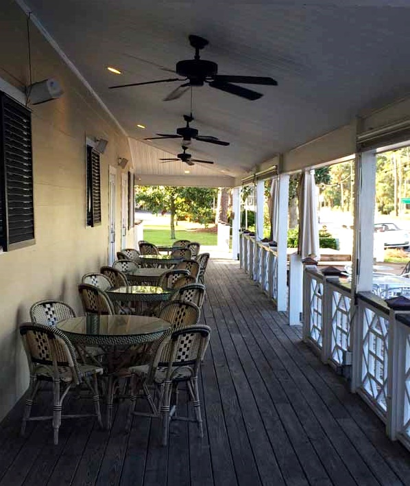 Gulf County Port Inn Porch