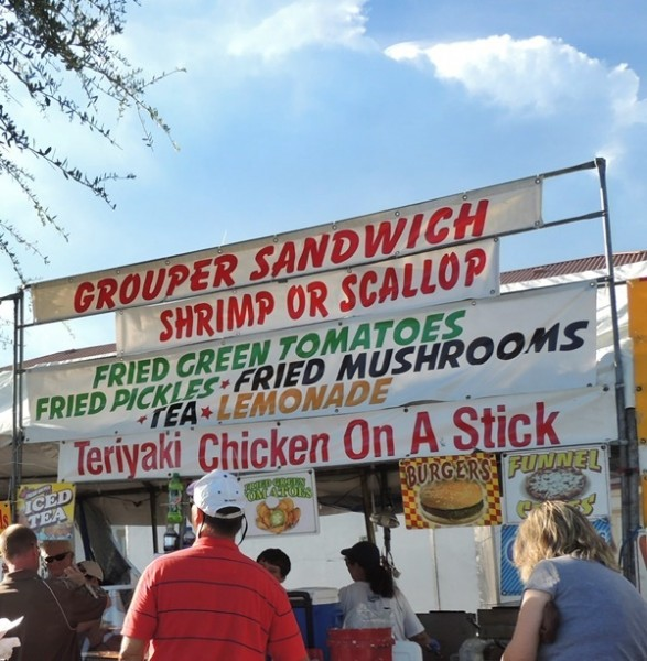 Gulf County Scallop Festival Food
