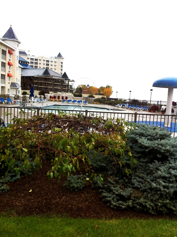 Cedar Point Hotel Breakers Outdoor Pool
