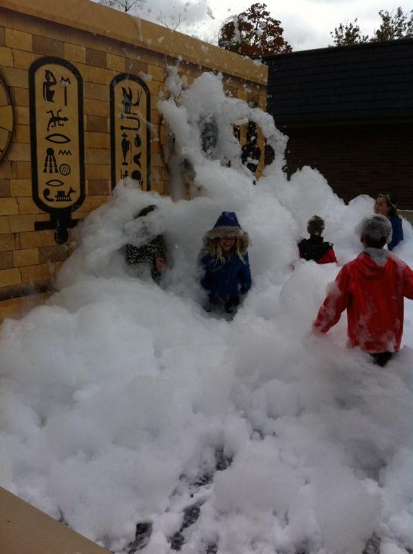 Halloweekends Foam Pit