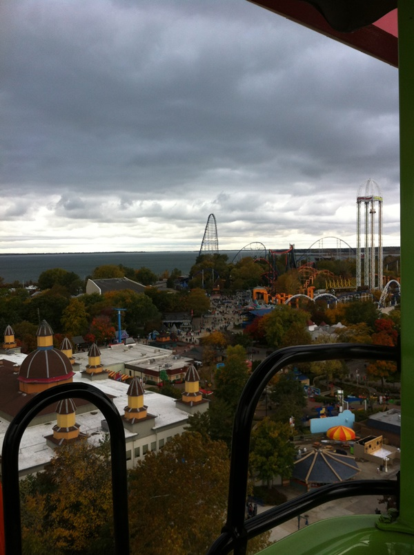 Halloweekends View From Sky Ride