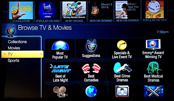 TiVo Collections TV