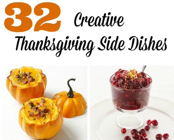 32 Creative Thanksgiving Side Dishes