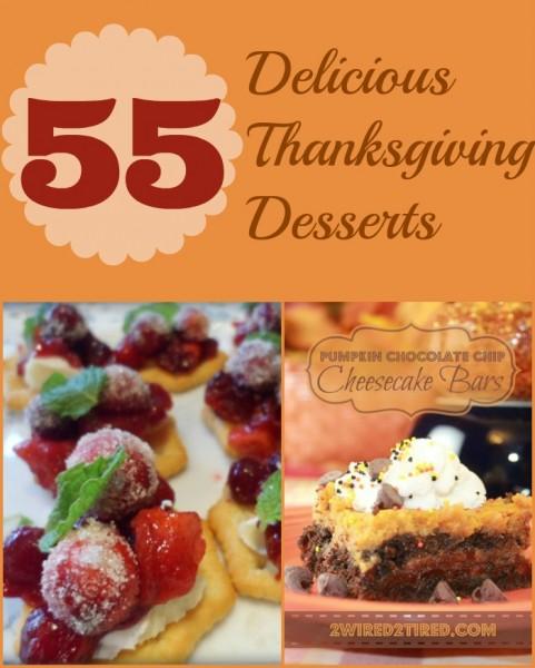 55 Delicious Thanksgiving Desserts