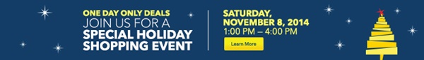 Best Buy Holiday Shopping Event Banner