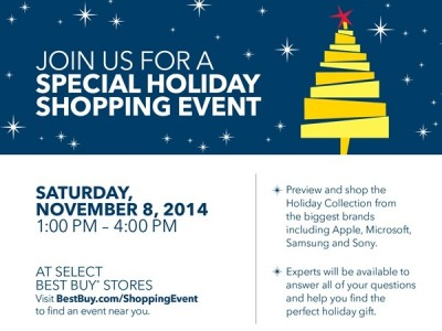 Best Buy Holiday Shopping Event Featured