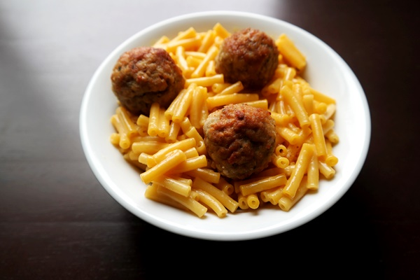 Easy Meatball Mac & Cheese Recipe