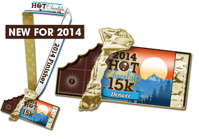 Hot Chocolate 15K Finishers Medal
