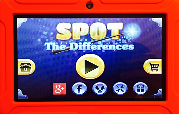 ClickN Kids Tablet 2 Spot The Difference