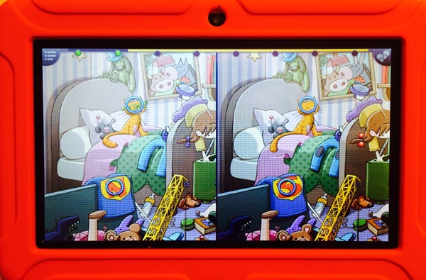 ClickN Kids Tablet Spot the Difference Game
