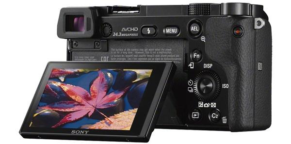 Sony a6000 Back
