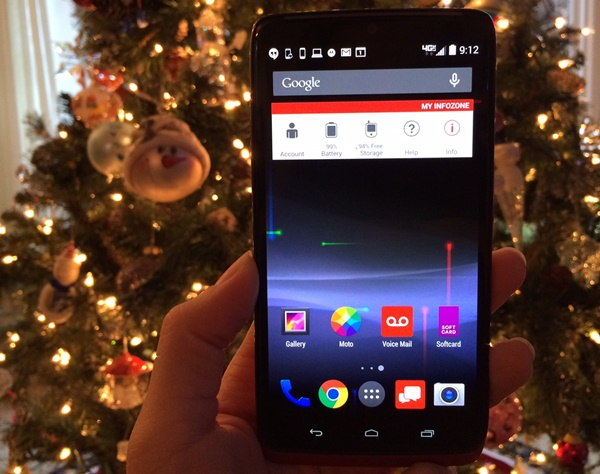 Droid Turbo Holidays