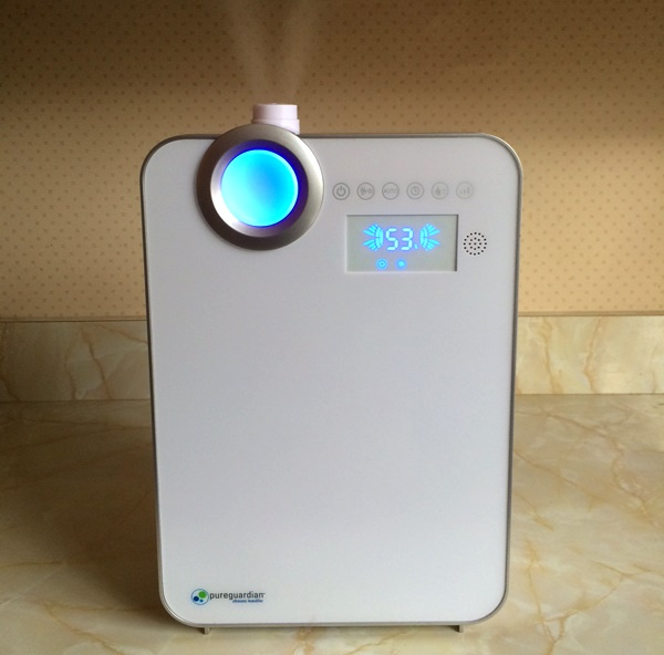 PureGuardian 90-Hour Smart Mist Ultrasonic Humidifier Review & Giveaway