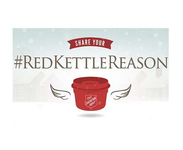 What's Your Red Kettle Reason This Holiday Season?