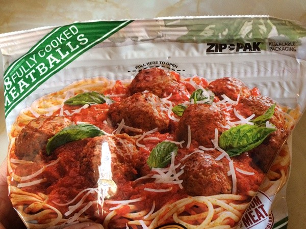 Johnsonville Meatballs Zip Pac
