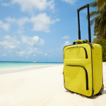 Suitcase on Beach Featured
