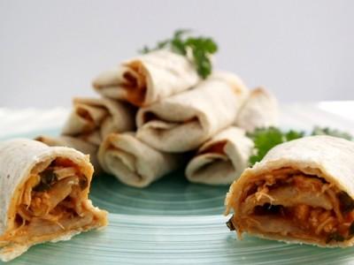 Cilantro Lime Chicken Tacos