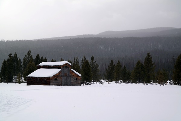 Snowshoeing in Colorado - Great Views at the National Park
