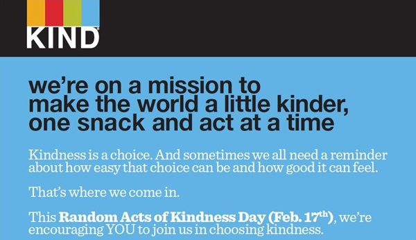 KIND Is Spreading 24 Acts Of Kindness Throughout Detroit For Random Acts Of Kindness Day