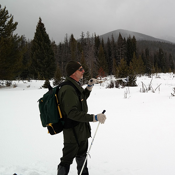 Snowshoe tour in Colorado