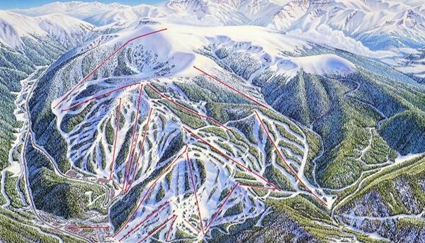 Winter Park Resort Ski and Lift Trails