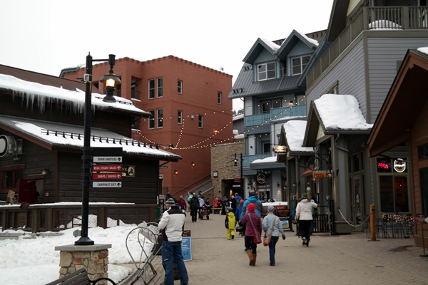 Lots of fun stuff at Winter Park Resorts Village