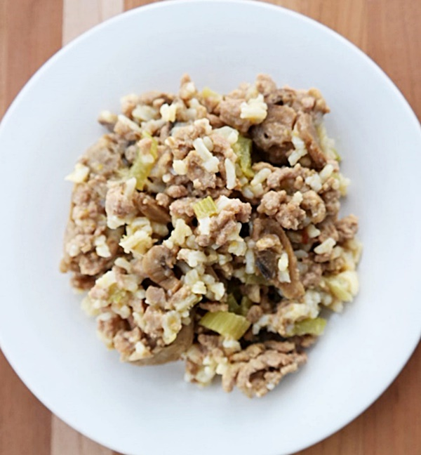 Beef Stroganoff Casserole With Rice