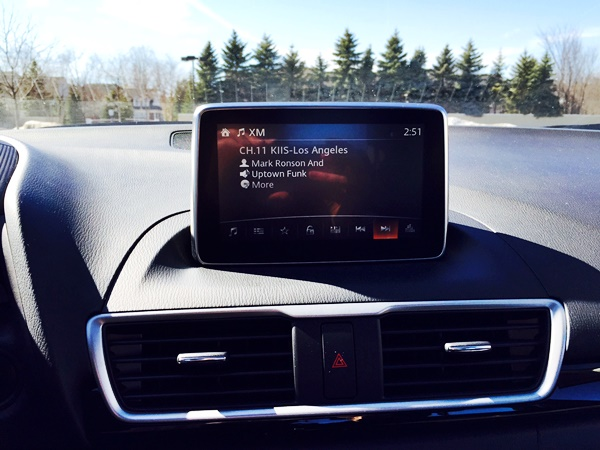 Mazda3 Display