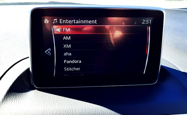 Mazda3 Music Options