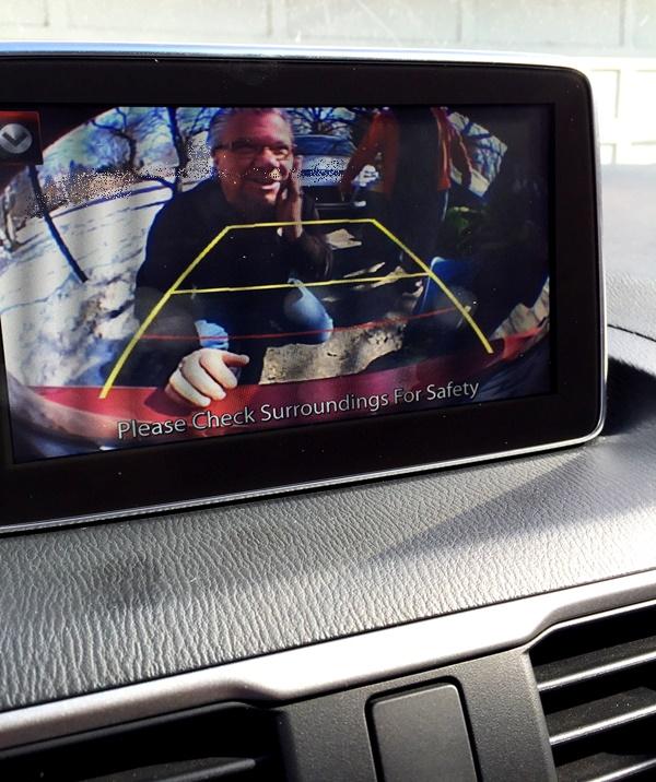 Mazda3 Rear View Camera