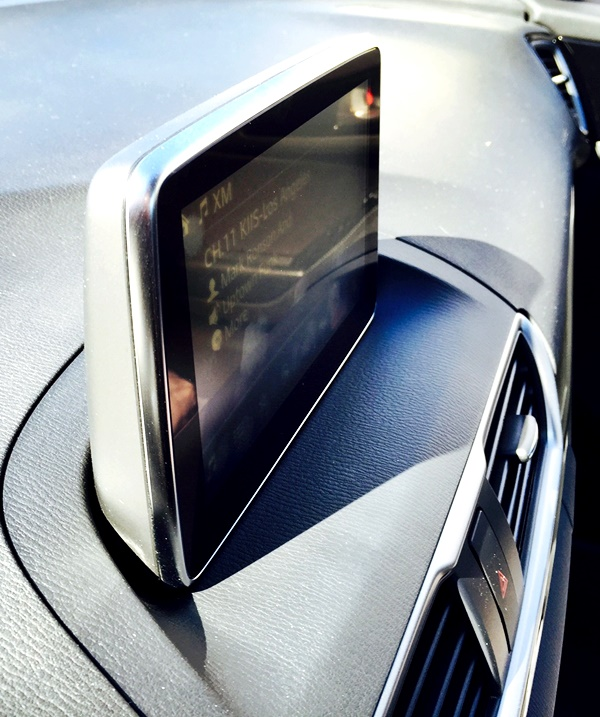 Mazda3 Touring Heads Up Display Side