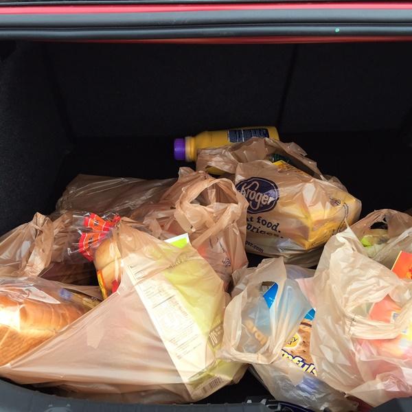 Mazda3 Trunk Space