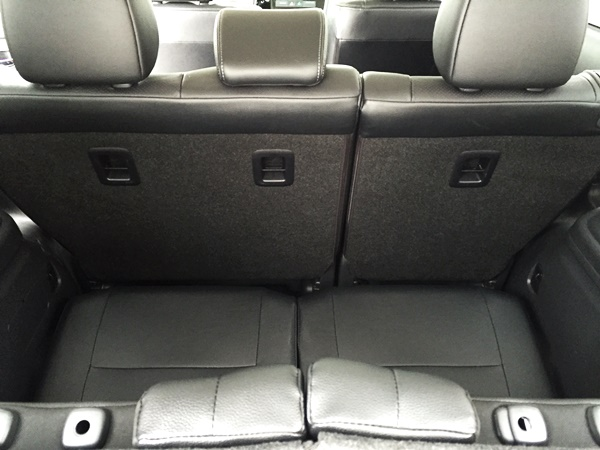 Mitsubishi Outlander 3rd Row Space