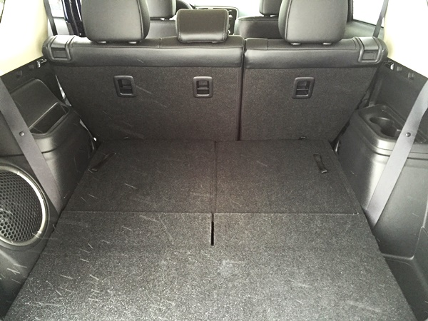 Mitsubishi Outlander Cargo Space 2
