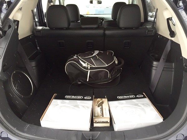 Mitsubishi Outlander Cargo Space