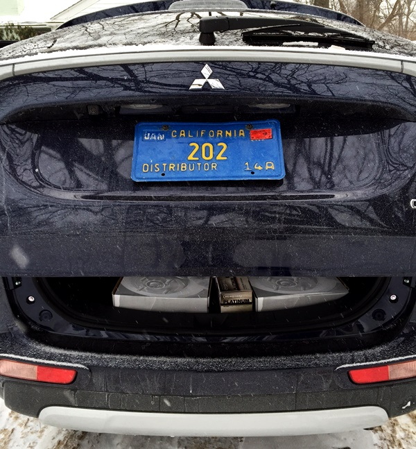 MItsubishi Outlander Power Liftgate
