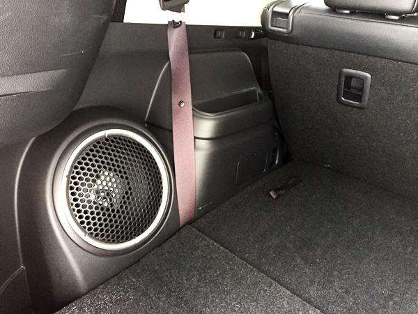 Mitsubishi Outlander Sound