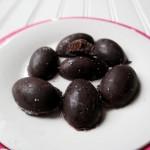 Nutella Dark Chocolate Easter Eggs With Sea Salt