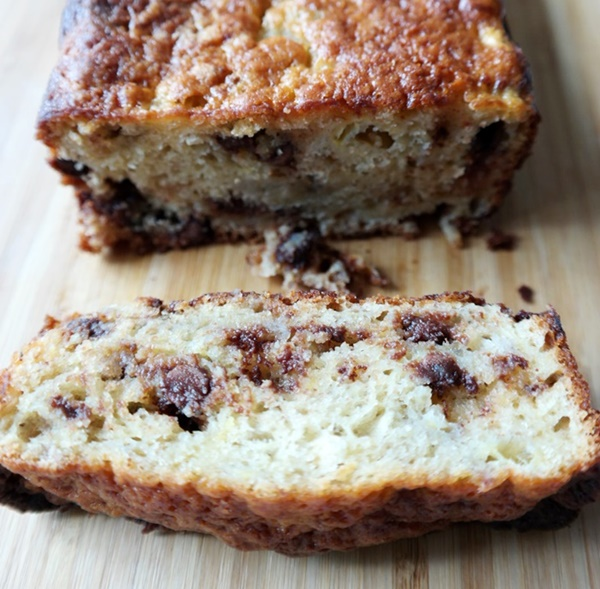 Quick & Easy Chocolate Chip Banana Bread