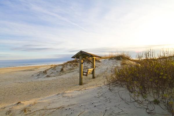 Tybee Island Beach Swing