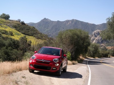 Fiat 500X On The Road