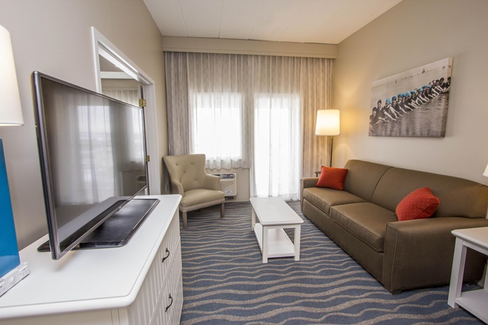 Hotel Breakers Room Interior Living Area