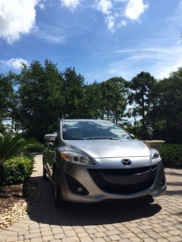 Mazda5 Grand Touring Front View
