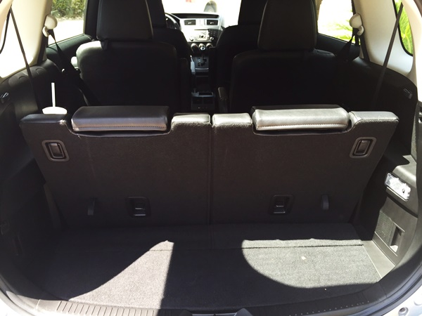 Mazda5 Grand Touring Review Cargo Space
