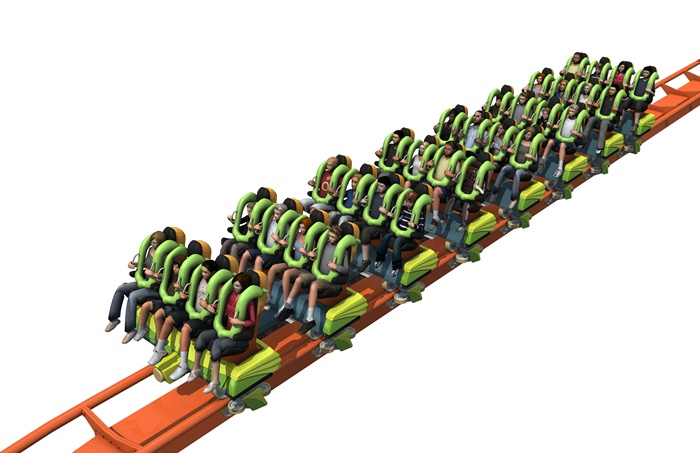 Rougarou Ride train