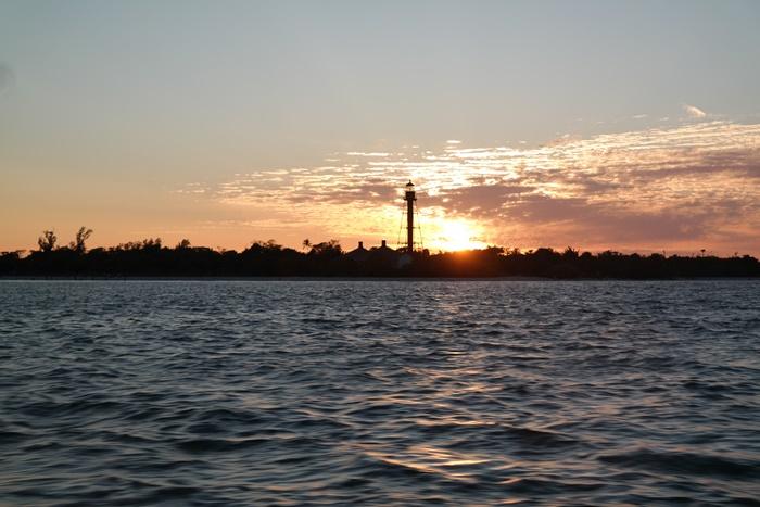 Sanibel Dolphin Cruise Sunset