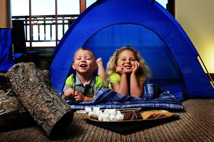 Sheraton Carlsbad Indoor Camping