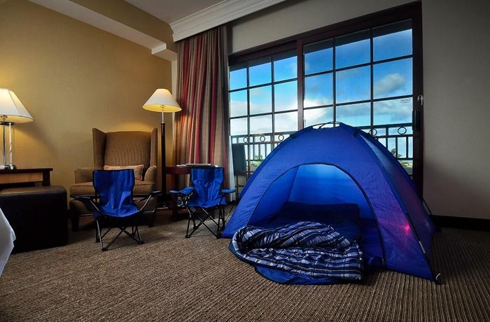 Sheraton Carlsbad Inroom Camping