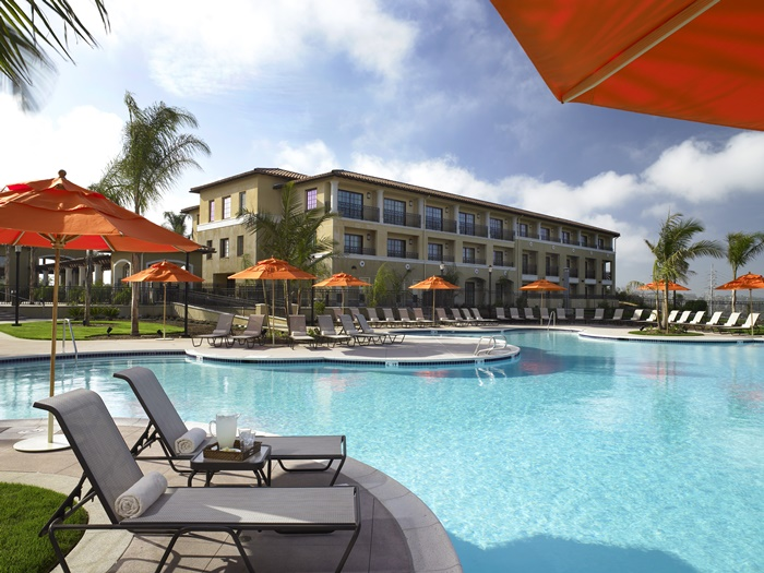 Sheraton carlsbad resort spa in room camping for Hotels near legoland with swimming pool